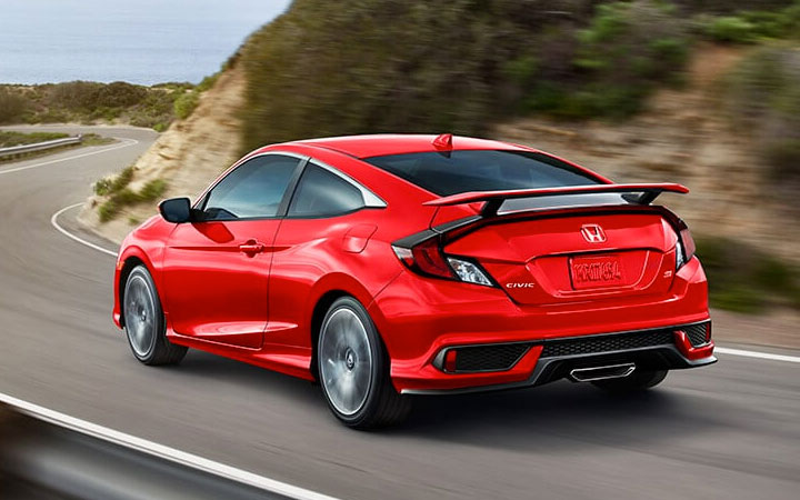2019 Honda Civic Si Coupe Performance & Efficiency
