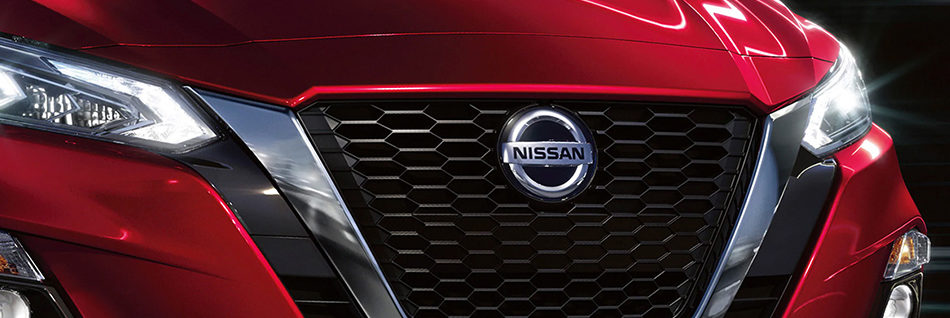 Nissan Altima front grille
