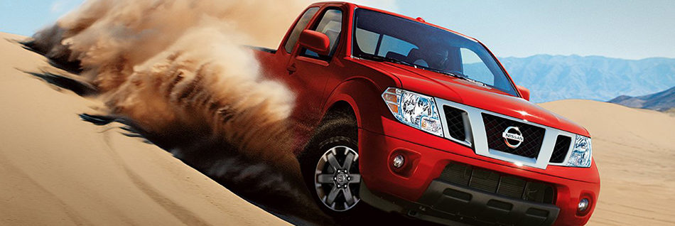Nissan Frontier Off-roading on sand