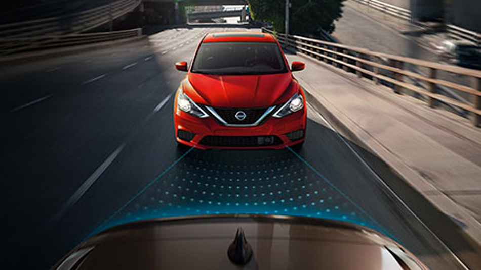 2019 Nissan Sentra with Intelligent Cruise Control
