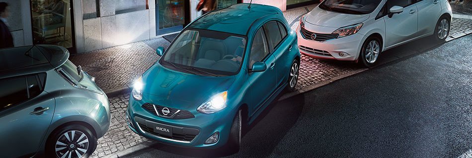 2019 Nissan Micra parallel parking