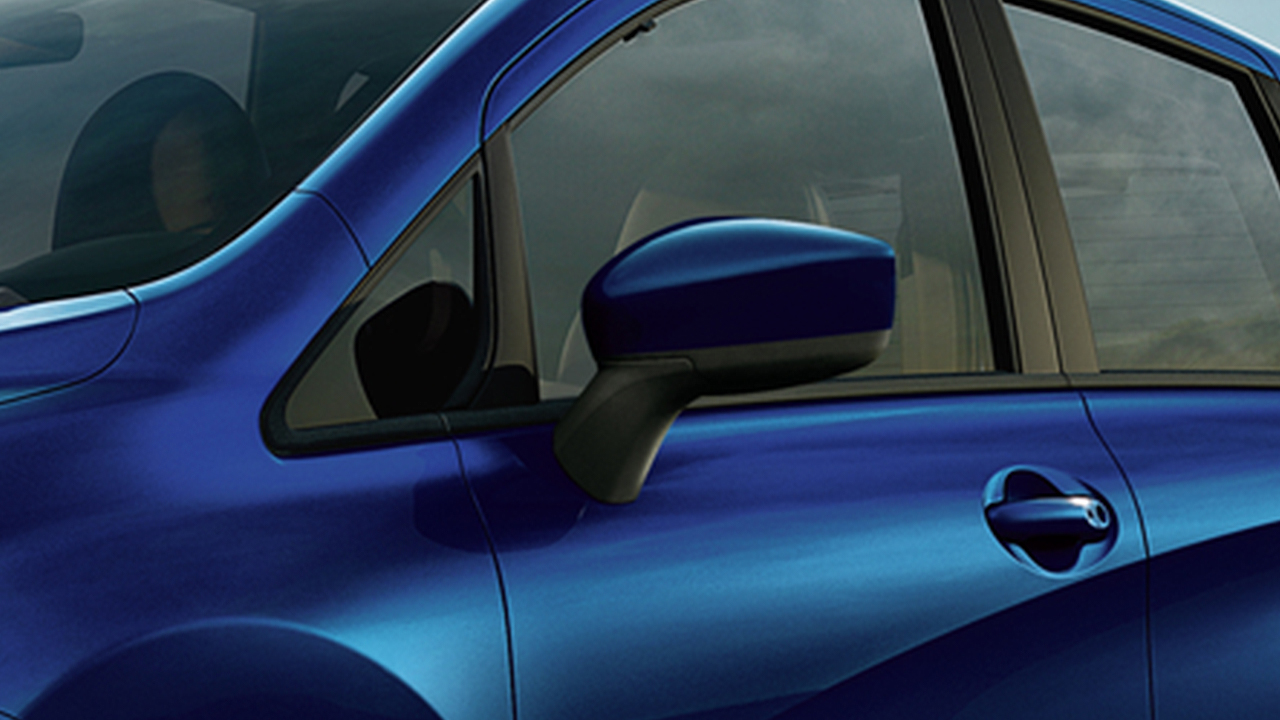 2019 nissan versa note side mirrors