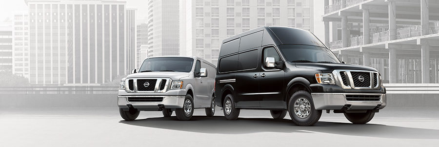 Nissan NV Cargo options in the city