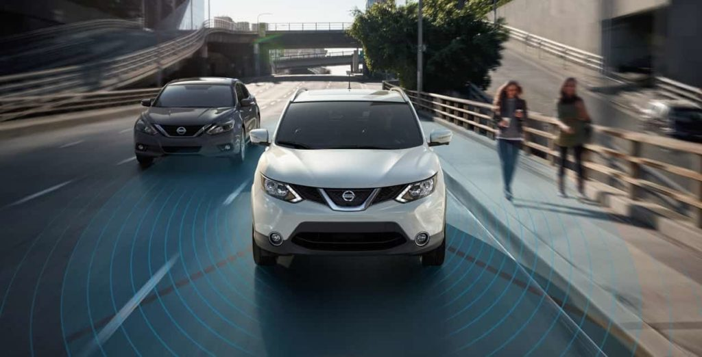 2019 Nissan RogueProPilot Assist in traffic