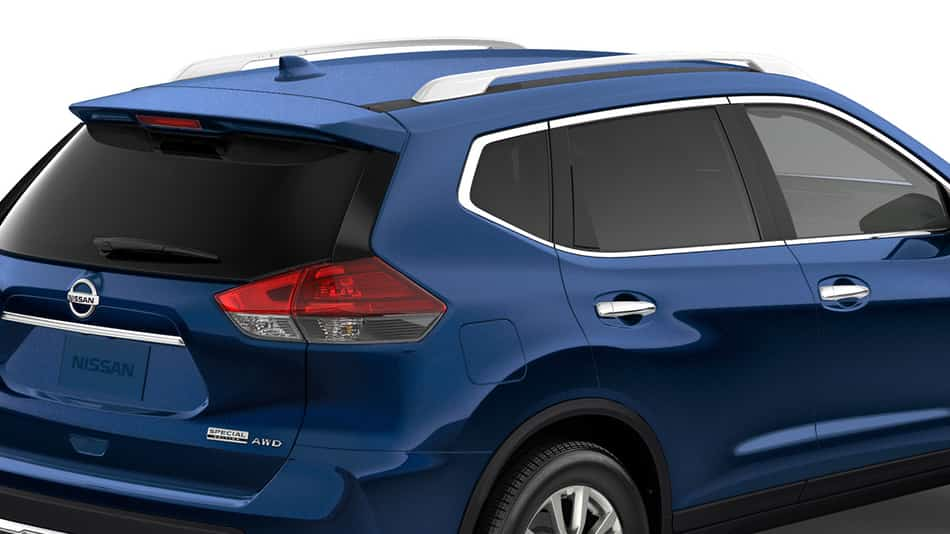 2020 Nissan Rogue in blue