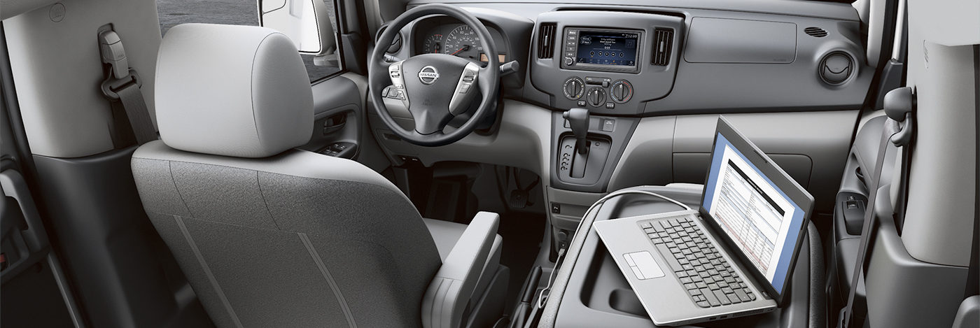 Interior of 2020 NV200 Compact Cargo