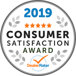 2019 Dealer Rater Award