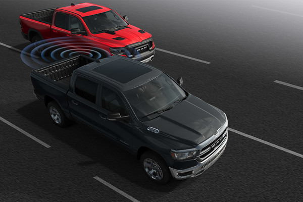 2020 Ram 1500 keeps your ride comfortable with technology and features