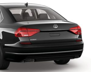 Passat easy open trunk
