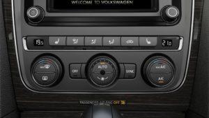 Volkswagen Dual Climate Control