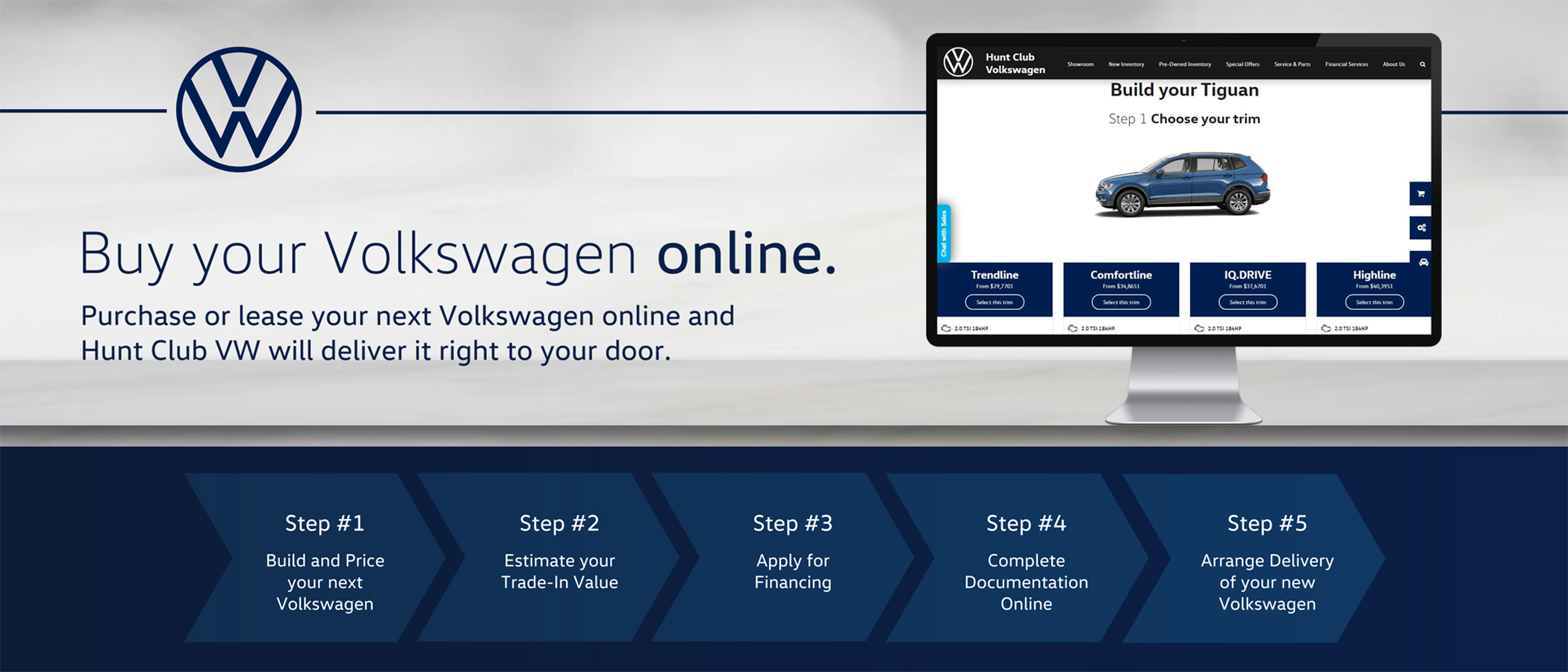 Volkswagen buy online slider hunt club vw ottawa