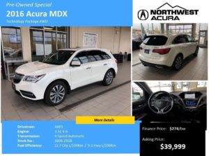 Preowned Acura MDX
