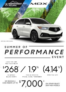 Lease The 2019 MDX Tech From $268 Bi-Weekly $6,250 With Down at Northwest Acura in Calgary