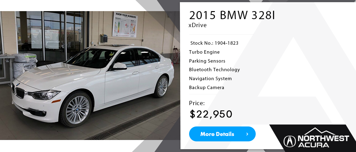 Northwest Acura | 2015 BMW 328i For Sale in Calgary, Alberta