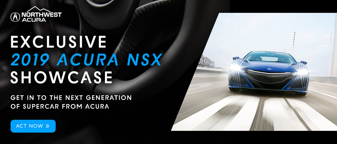 Find Your 2019 Acura NSX in Northwest Acura's Exclusive Showcase in Calgary