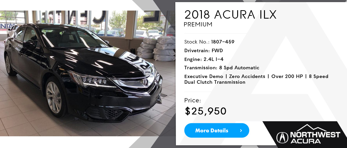 Northwest Acura | 2018 ILX for Sale in Calgary, Alberta