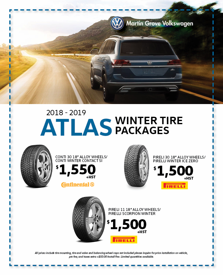 Atlas Winter Tire Packages