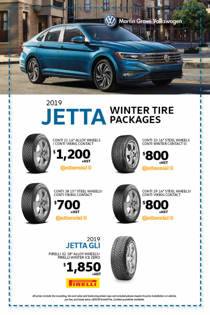 Jetta winter Tire Packages Martin Grove Volkswagen