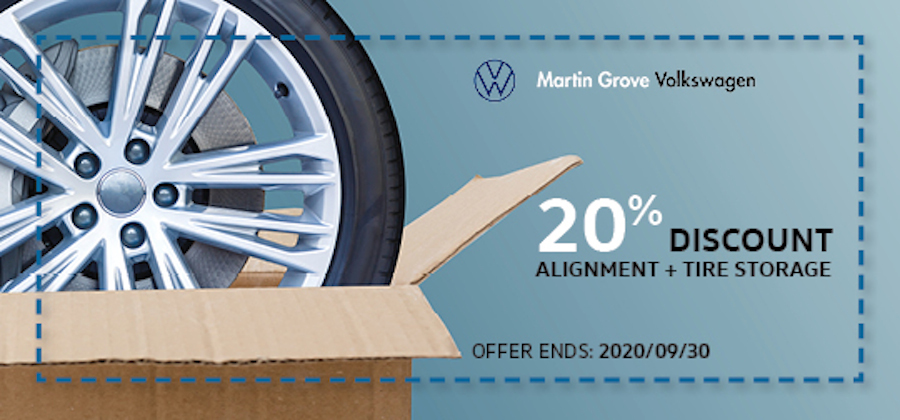 20% discount on alignment
