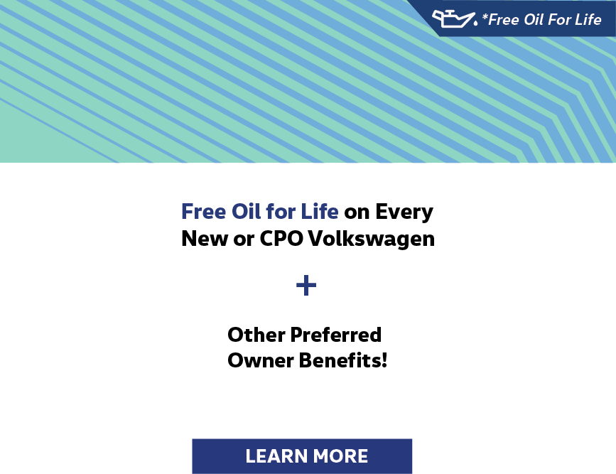 Free Oil For Life At Martin Grove Volkswagen