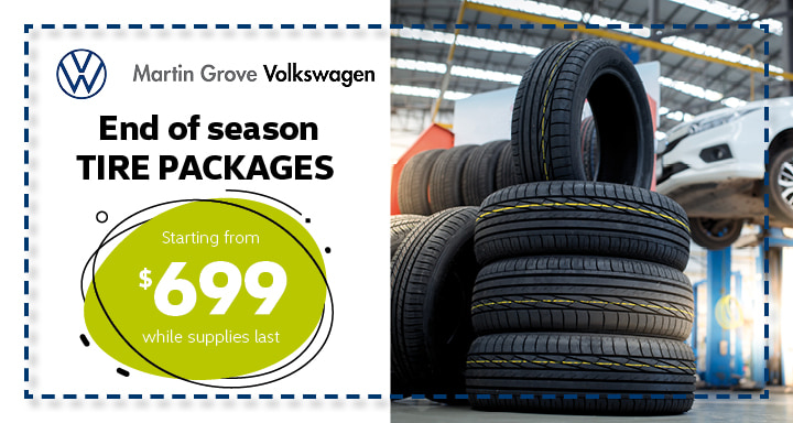 End of season Tire Packages