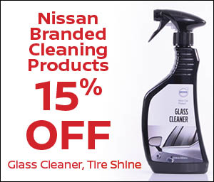 Nissan Branded Cleaning Products
