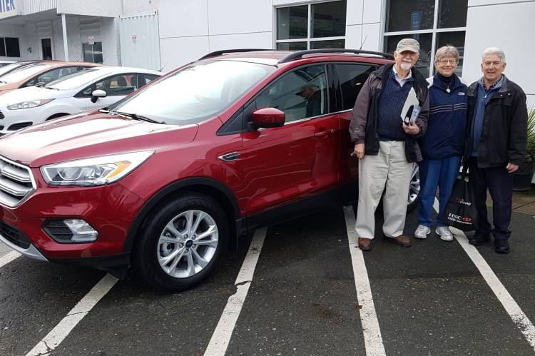 Hilda with Mike 2018 Ford Escape