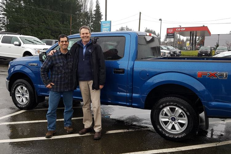 Keith with Lorne 2018 Ford F150 FX4