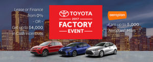 Portage Toyota June incentive