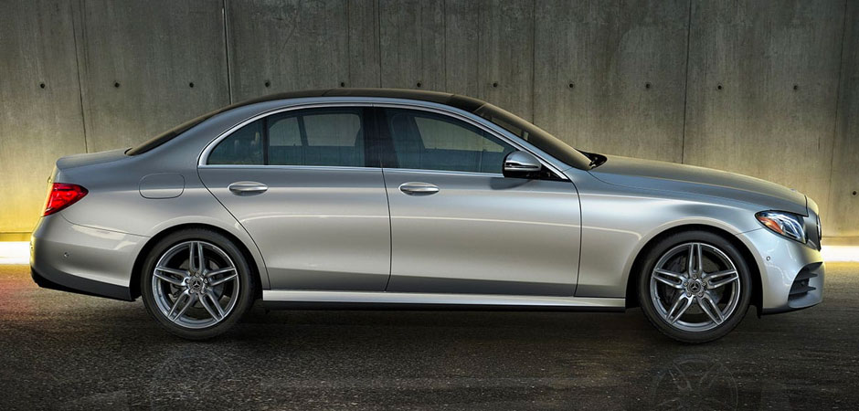 Side View of E Class