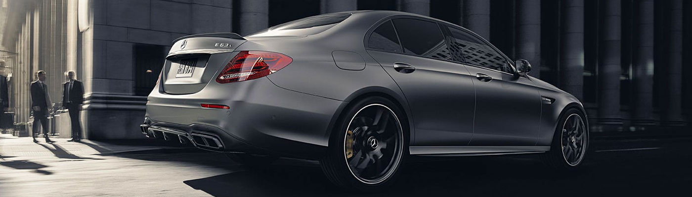 Grey E-Class Back/Side view