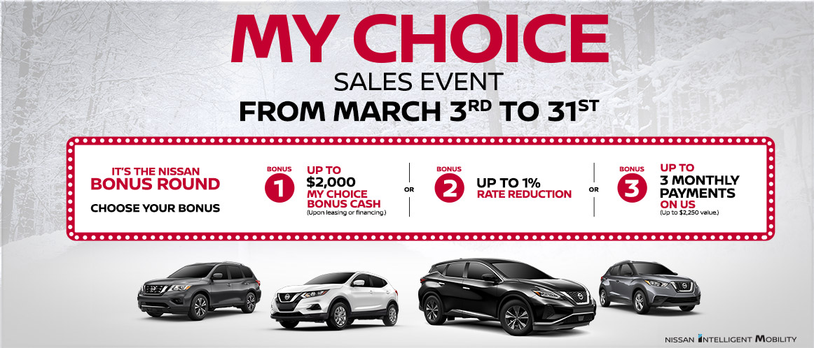 Nissan Monthly 2019 Offer Mobile