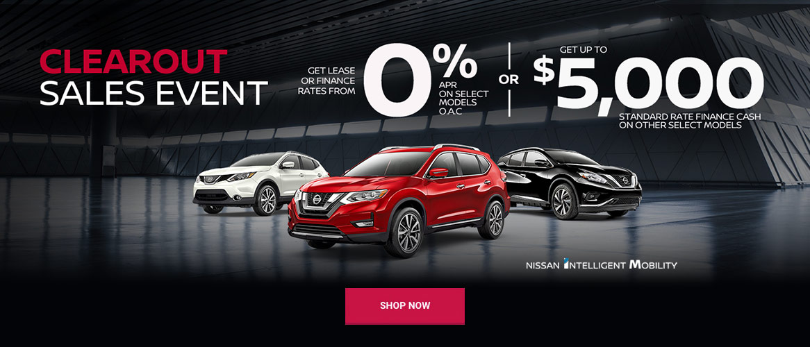 Nissan September 2019 OEM Offer