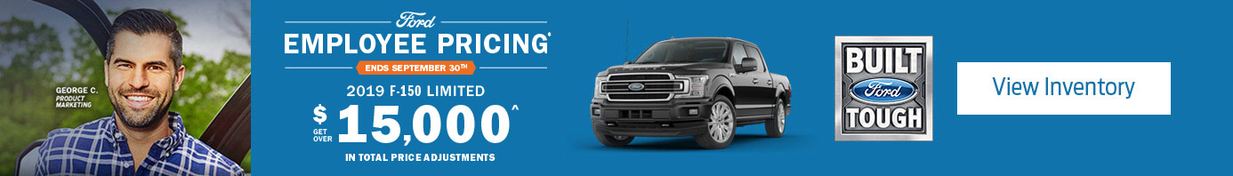 Ford September 2019 OEM Offer