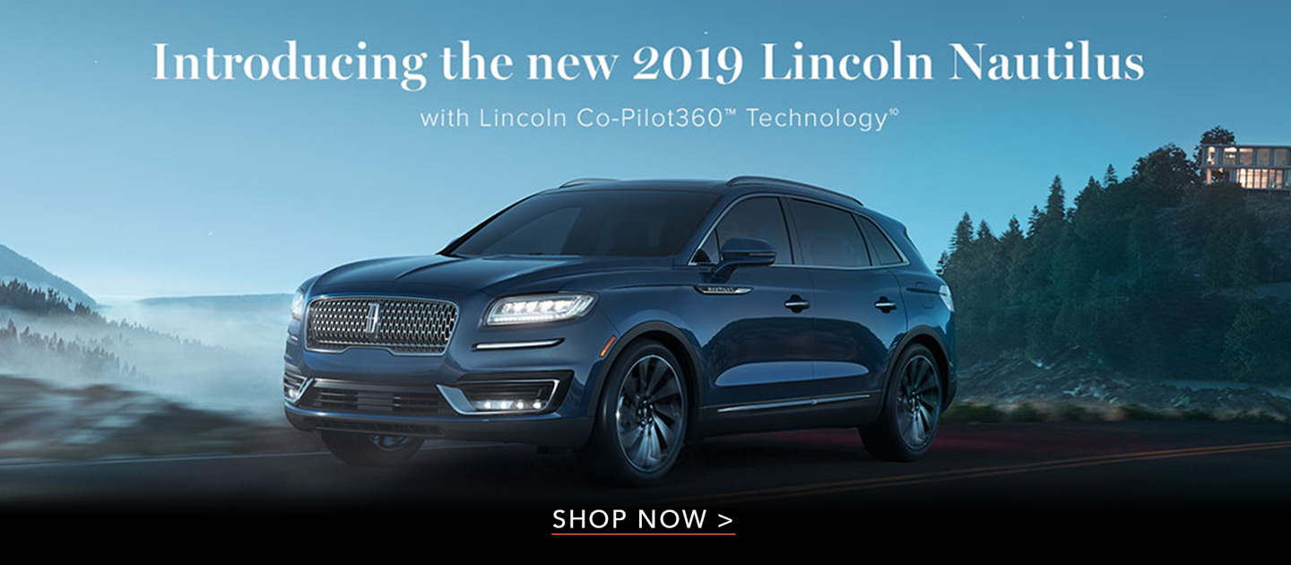 2019 Lincoln Nautilus model