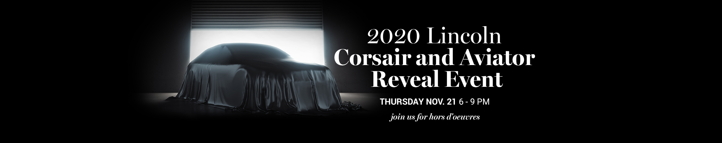 2020 Lincoln Corsair and Aviator Reveal Event