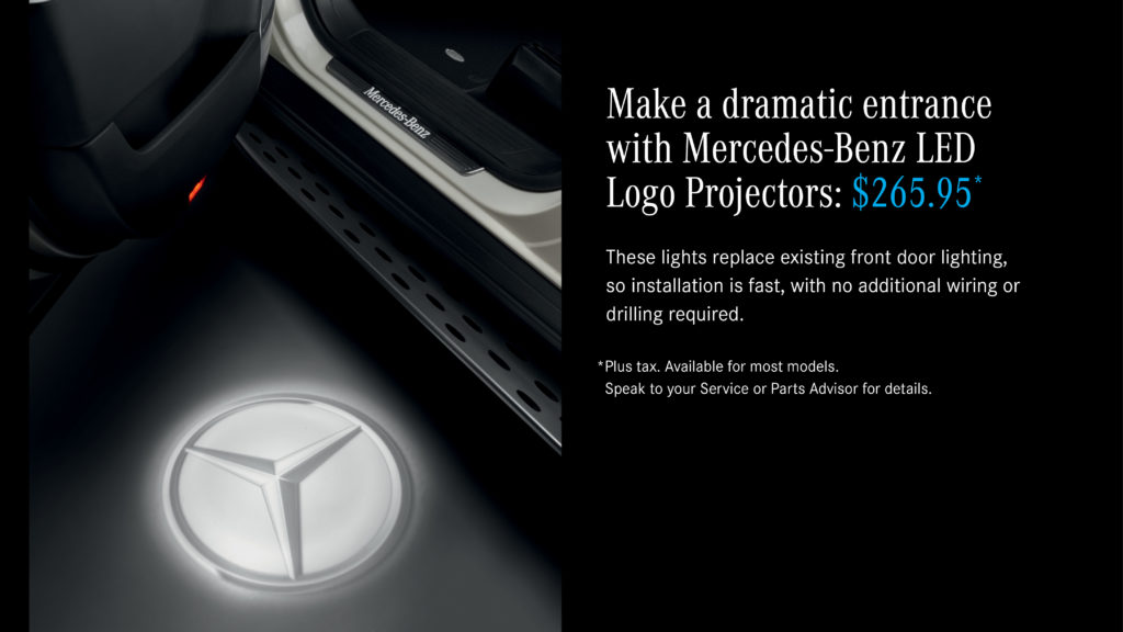 Mercedes-Benz LED Logo Projectors