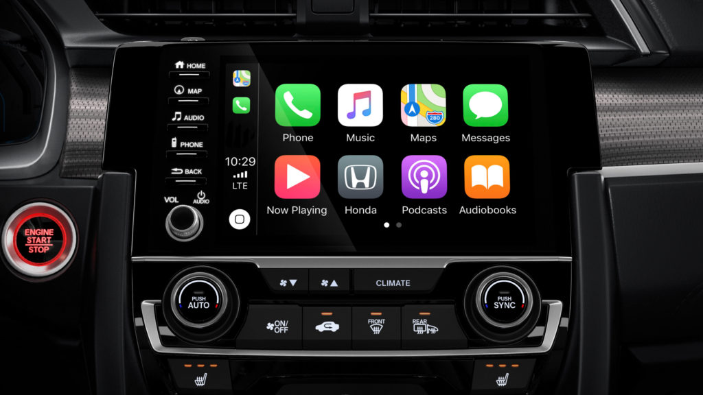 Honda Features: Apple CarPlay