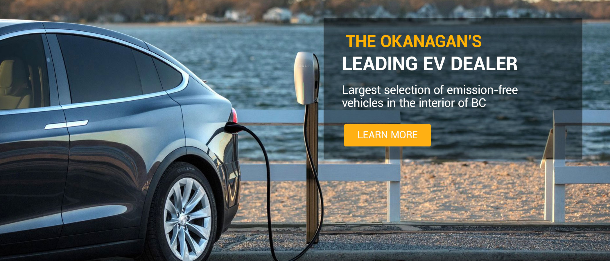 Okanagan's leading ev dealer