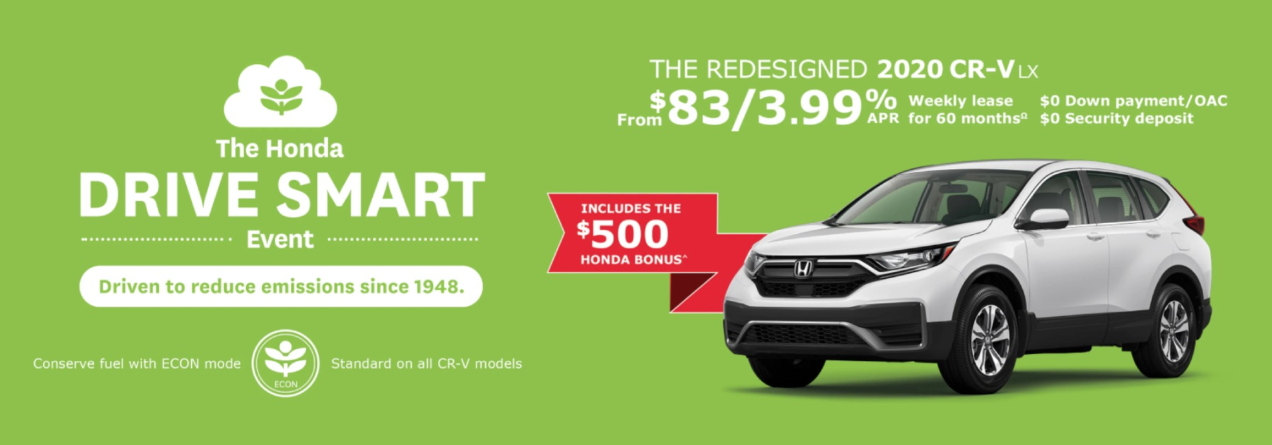 April 2020 Crv Offer