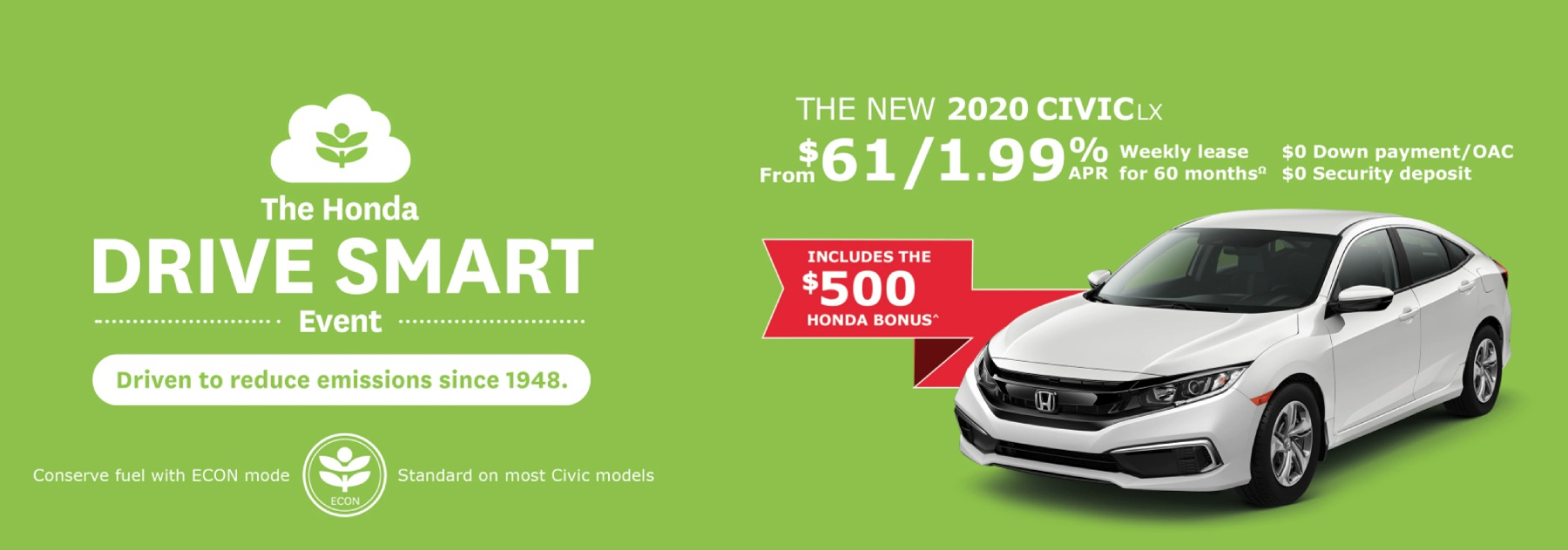 April 2020 Civic Offer