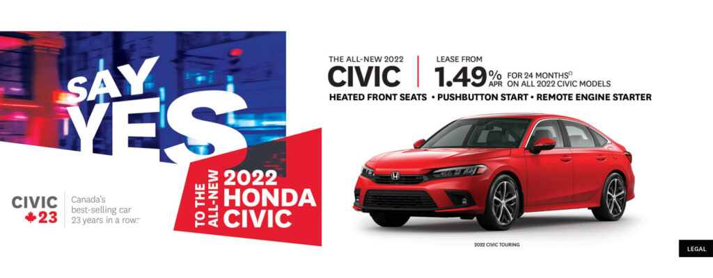 August 2022 All New Civic