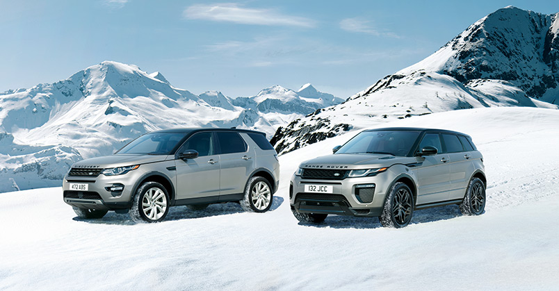 Lr Rangerover Snow Mountain
