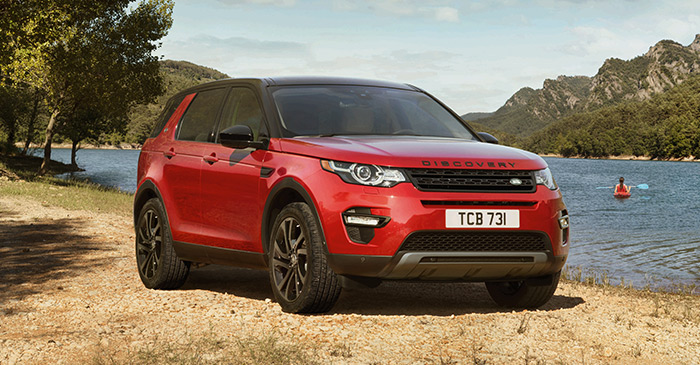 2017 Lr Discover Sport Red
