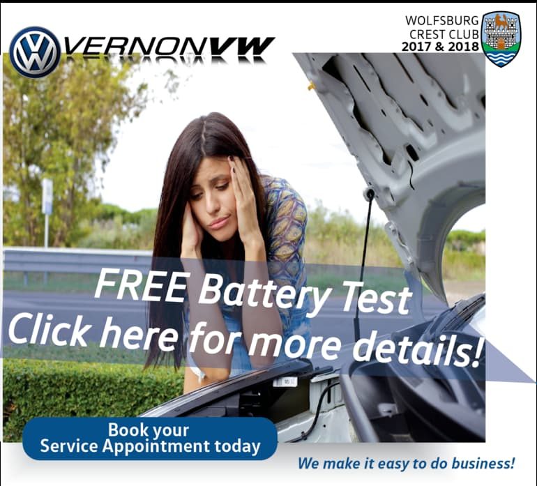 Book your free Battery test today