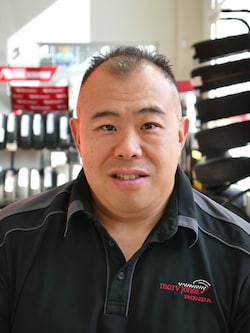 Lester Wong - Parts Manager