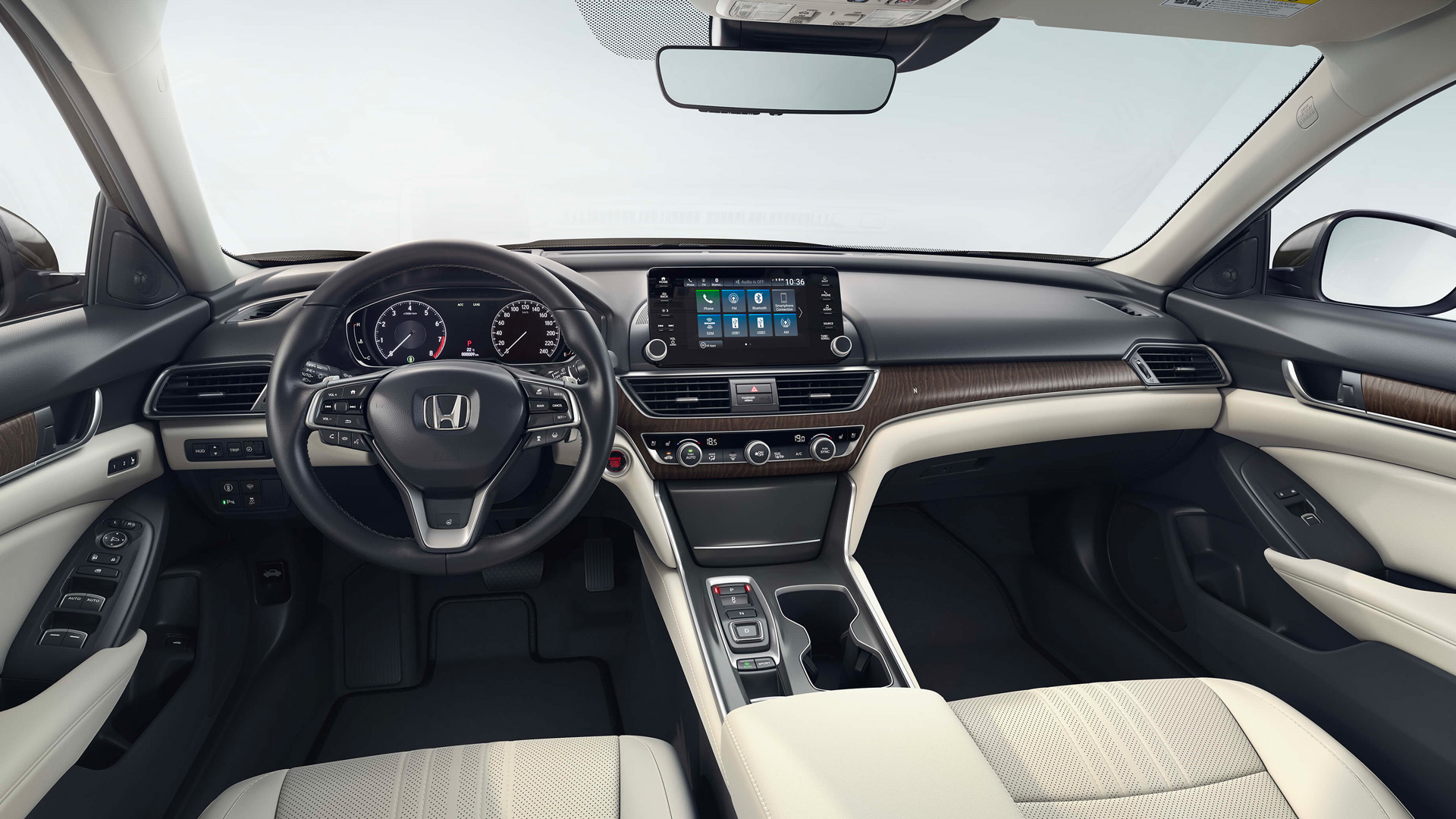 2020 Accord Interior Dash View