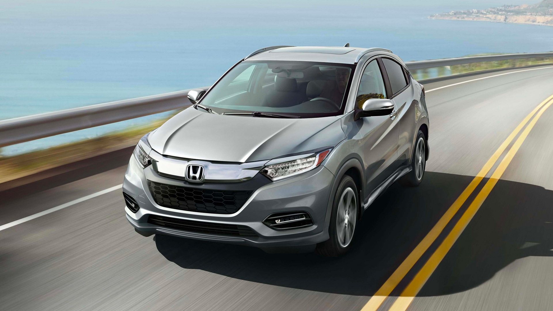 2020 Hrv Highway Driving