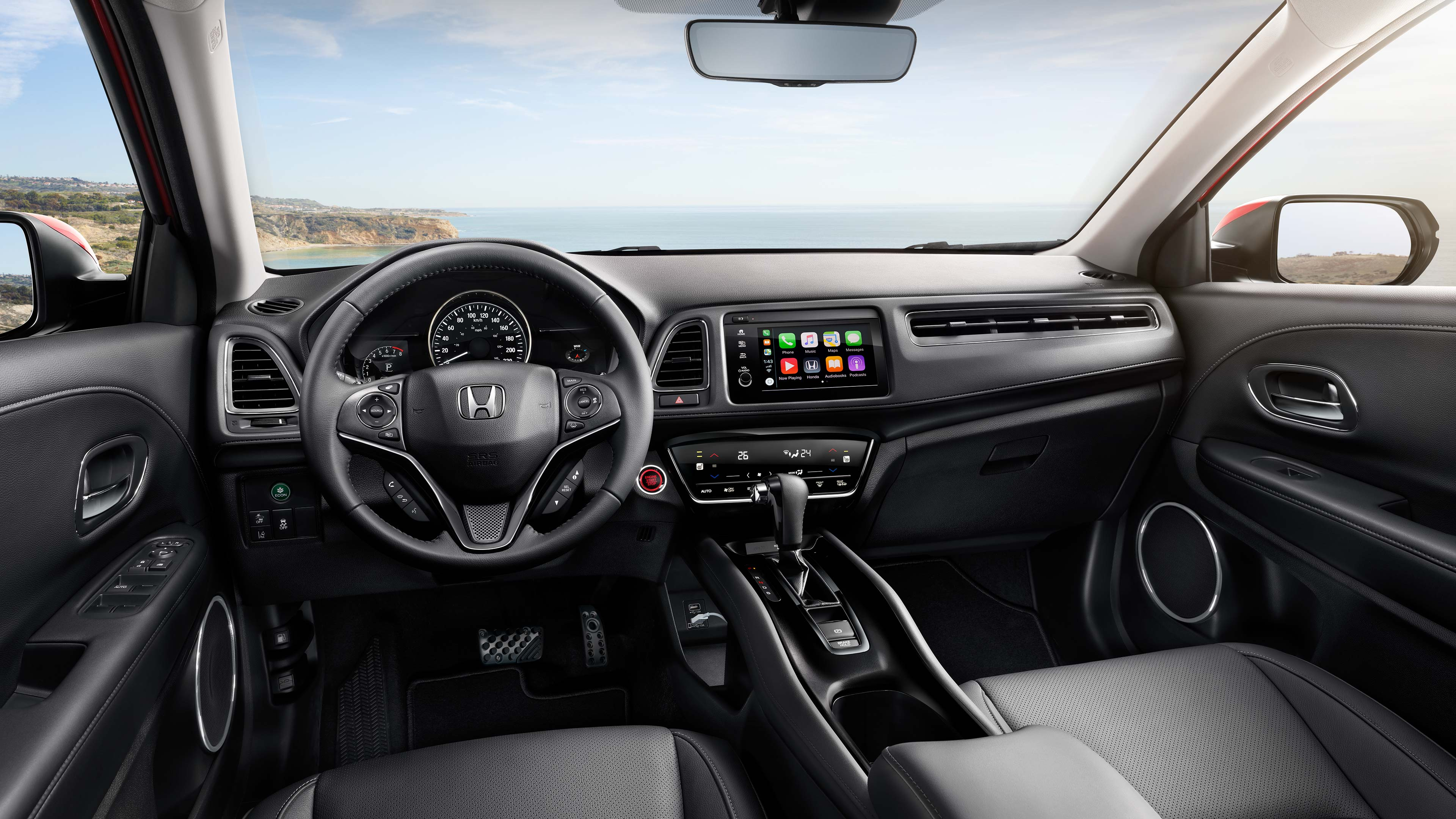 2020 Honda Hr V Interior