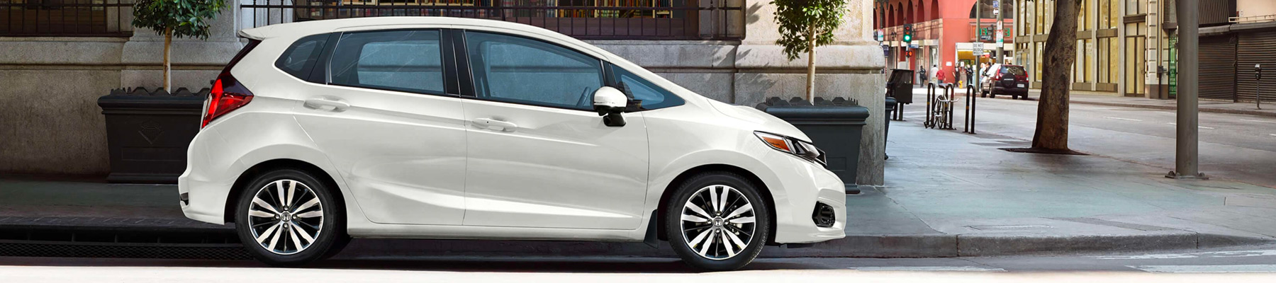 2019 Honda Fit Sideview Banner